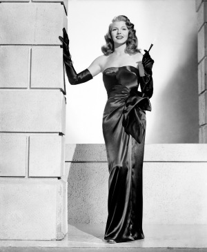 1946: Rita Hayworth (1918 - 1987) plays the sexy title role in the wartime film noir 'Gilda', directed by Charles Vidor. (Photo by Robert Coburn Sr.)