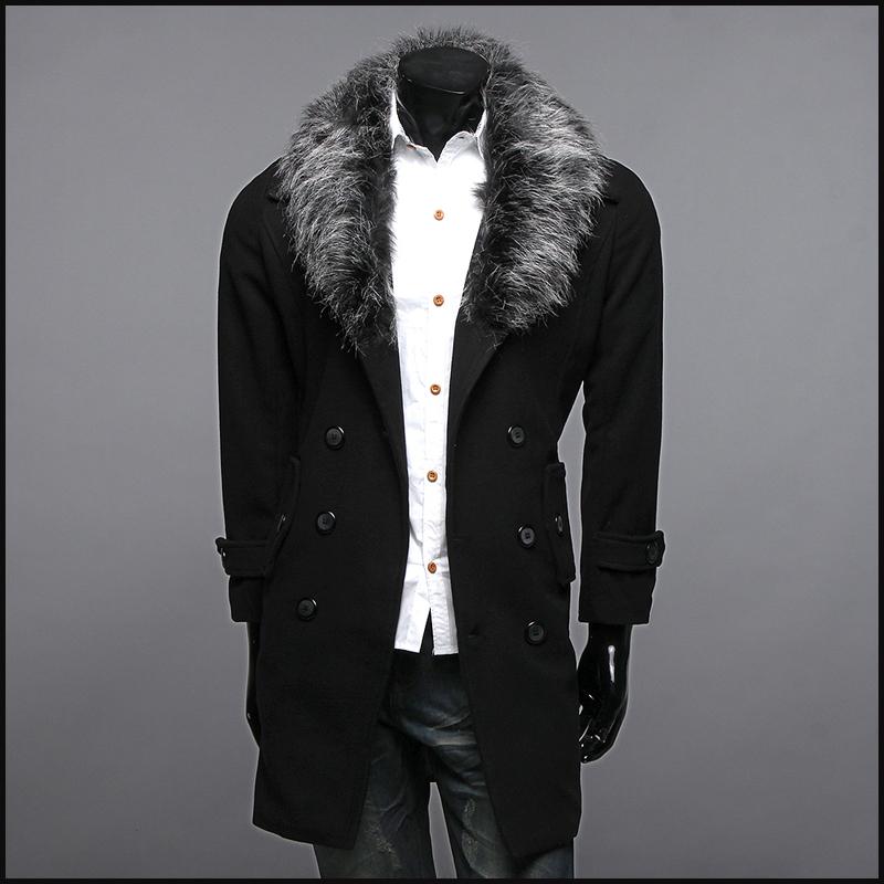 picture 4 pelzkragen mantel herren