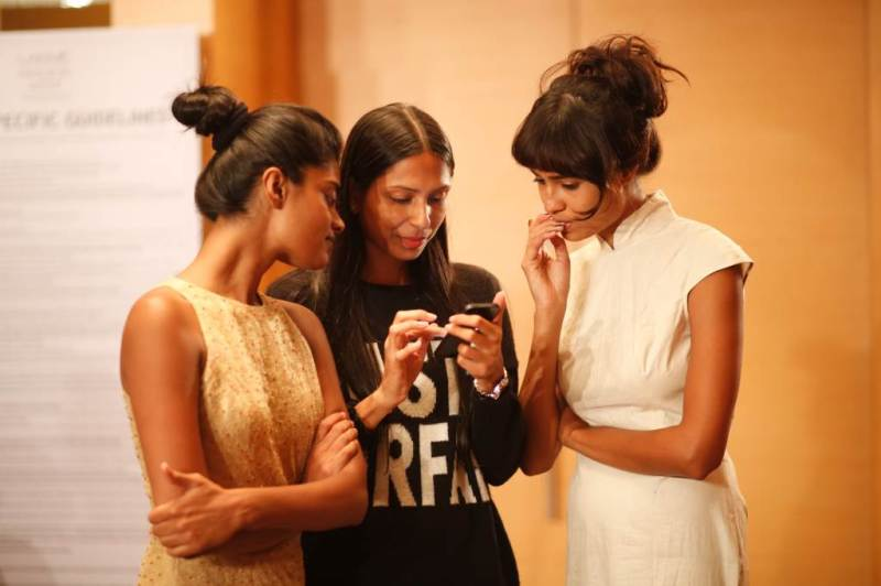 LFW SR 2014 - Day 2 Fittings (6)