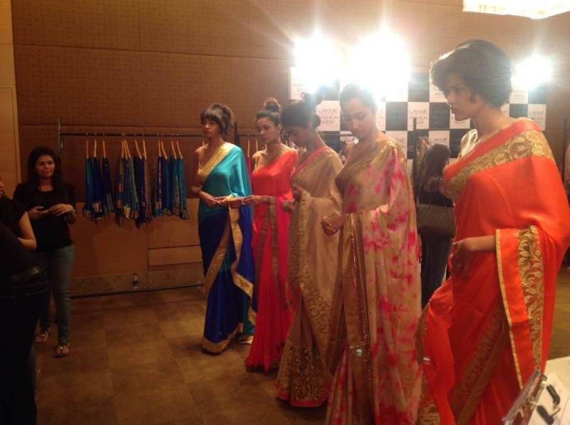 fittings at Debut Collection of Mandira Bedi