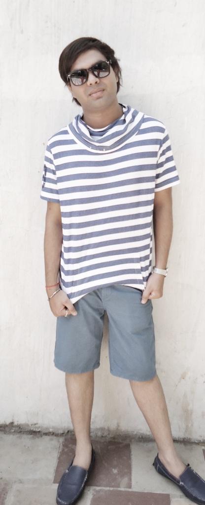 Chirag Losse slub tee Nuon shorts blogs