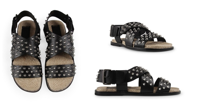 DSquared2 Metal Studded Sandals