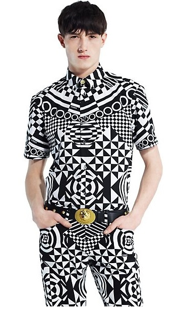 Versus Optical Print Shirt