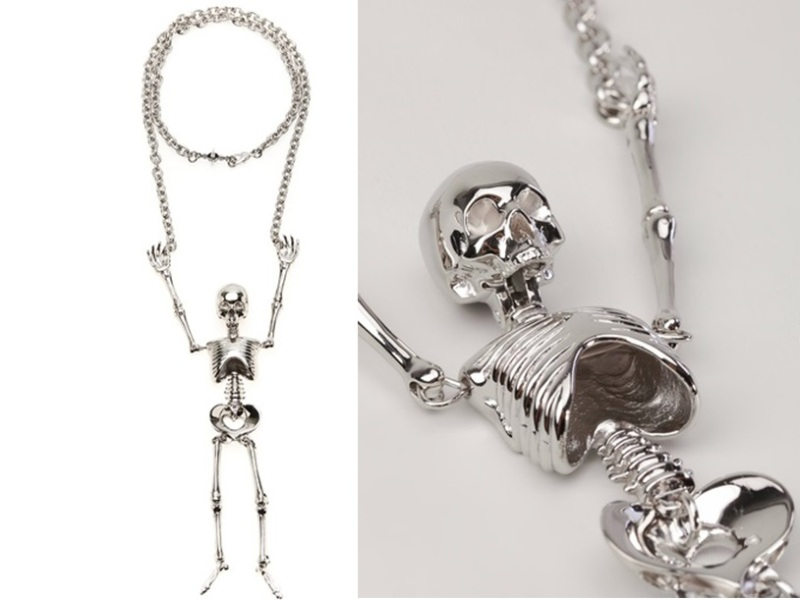 Vivienne Westwood Giant Skeleton NEckless