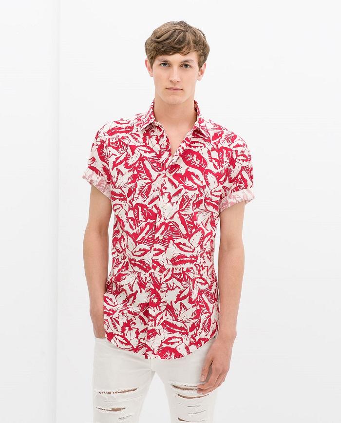 Summer s seven 7 shirts to flaunt this summer boywonder for Zara mens floral shirt